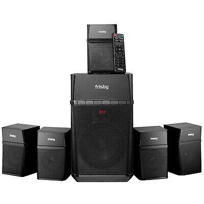 Home Theater Surround Sound 5.1 Speaker System TV Digital Optical Bluetooth 5.1 Surround Sound Usb