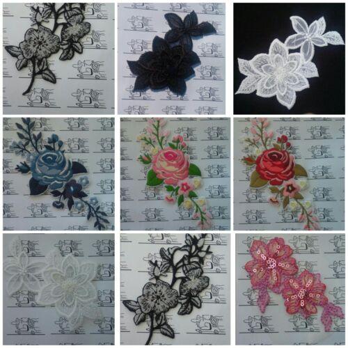 Blumenarrangements Aufbügler Aufnäher Applikation Motiv Patch       Incl 16%MWST