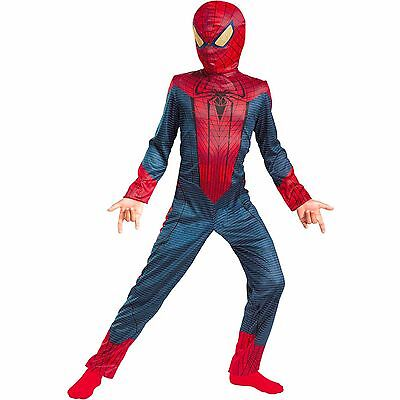 OFFICIALLY LICENSED MARVEL'S THE AMAZING SPIDER-MAN BOYS COSTUME LARGE (12-14)