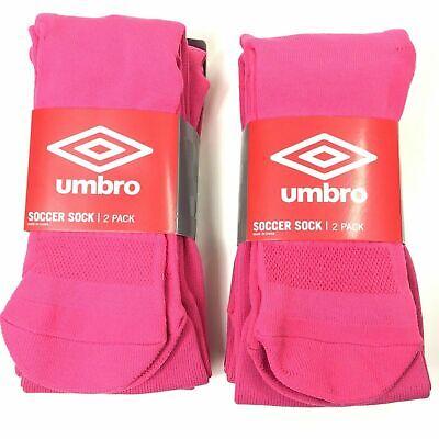 NEW Umbro White Soccer Socks 2-Pack Youth Size Small