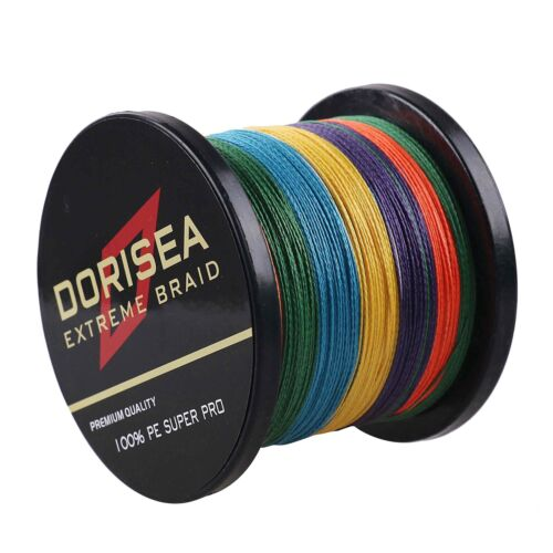 Multi-Color Dorisea 300M//500M//1000M Super Power Braided Fishing Line 6LB-300LB