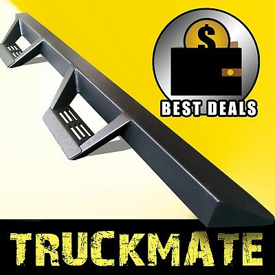 Tri Style Running Boards Side Steps Nurf Bars fit 05-19 Toyota Tacoma Crew Cab