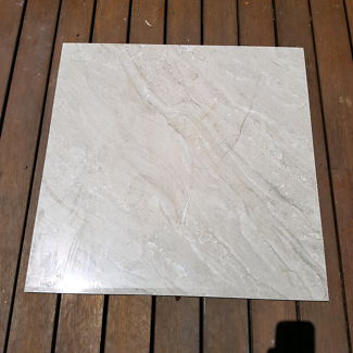 Floor tile. High gloss. 600x600mm.
