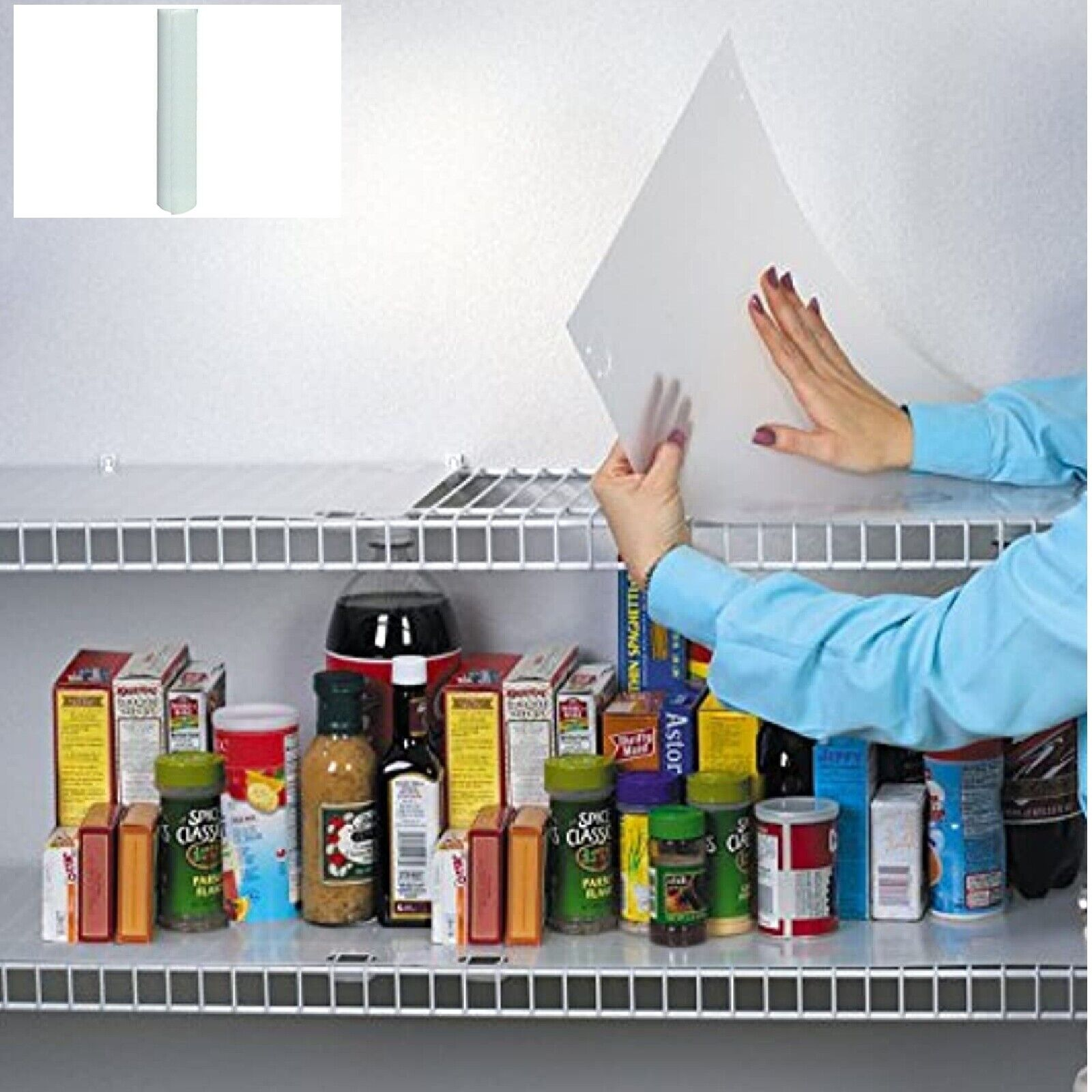 ClosetMaid Wire Shelf Liner With Tuck Kitchen, Closet Use 10