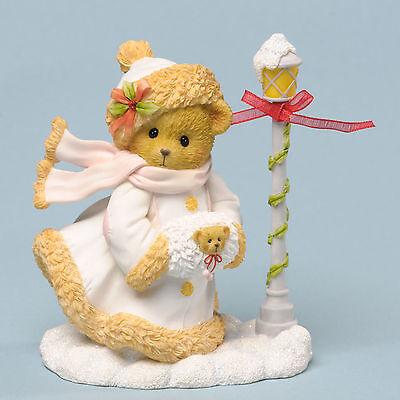 Cherished Teddies*CHRISTMAS BEAR with HAT, SCARF & MUFF*New*NIB*Winter*4034604