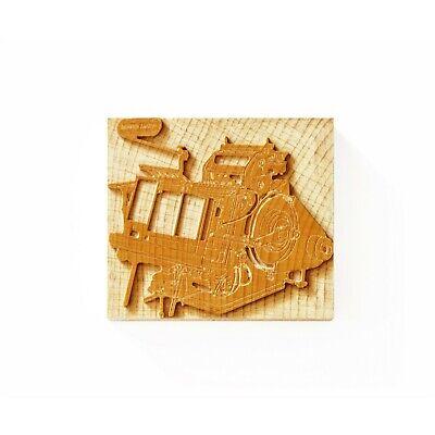 Letterpress Heidelberg Press - Wood Type - 17 X 19 Line 718 X 802 Mm