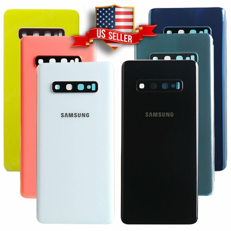 Samsung Galaxy S10/Plus/S10e/Note 10 Replacement Back Glass+Camera Lens+Tape