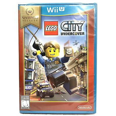 LEGO City Undercover For Nintendo Wii U Brand New Free Shipping