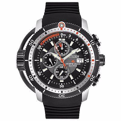 Citizen Eco-Drive Men's BJ2128-05E Promaster Depth Meter Chronograph 48mm Watch