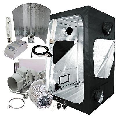 Komplettset Grow-box 120x120x200cm + 600W NDL ETI Wuchs und Blüte + Abluft-Set
