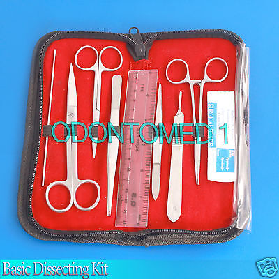 Basic Dissecting Kit Veterinary Surgical Instruments