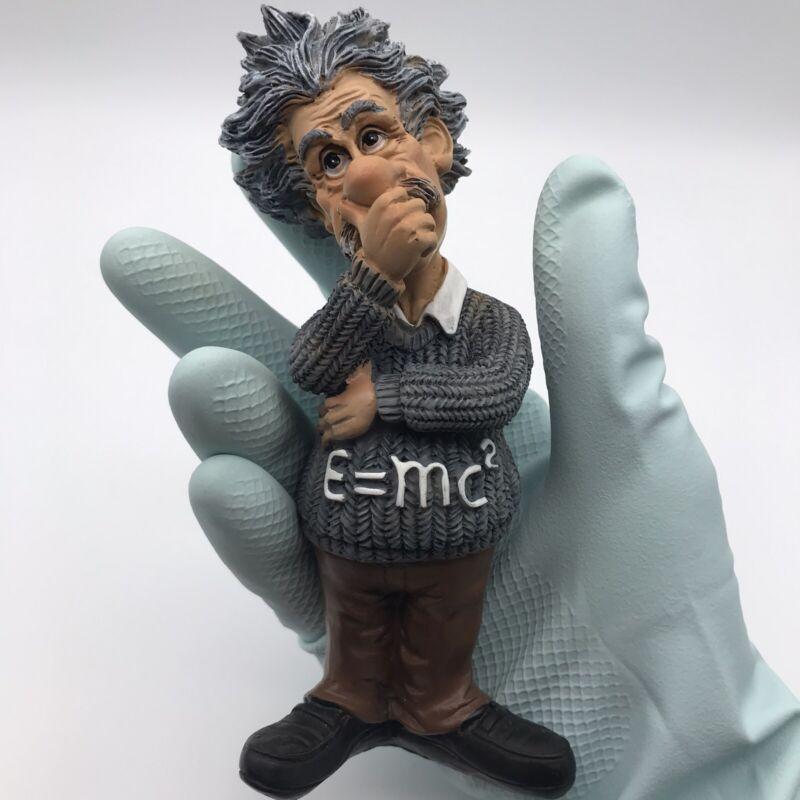 Albert Einstein Figurine Thinker Statue Desktop Office Figure **Free shipping**