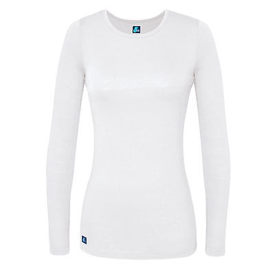 Womens Ladies Casual Round Crew Neck Long Sleeve Comfort T-shirts