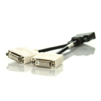 Assorted DMS-59 Male to Dual DVI-I Female Y Splitter Monitor Video Cable