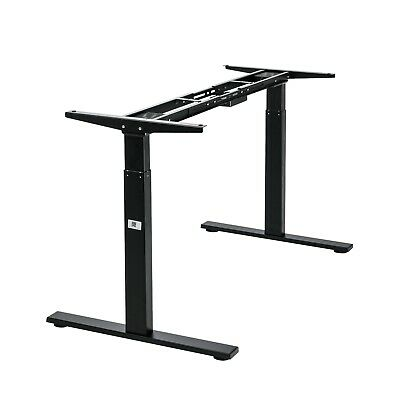 Vwindesk Electric Duble Motors Height Adjustable Sit Stand Folding Desk Frame