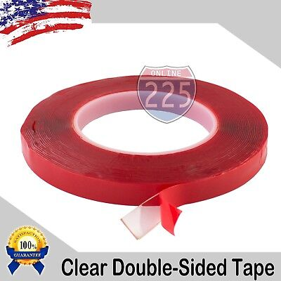 30 Feet 10 Yards Of 12 Inch Double-sided Clear Transparent Tape Adhesive
