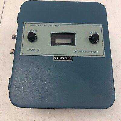 Teledyne Analytical Instruments 731 Percent Ndir Co2 Infared Analyzer Rare