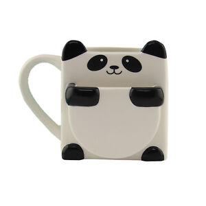 Paladone Panda Hug Mug with Cookie Holder