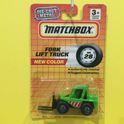 Matchbox - FORK LIFT TRUCK (green) - Thailand - mainline 1993 #28