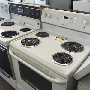 Used stoves, electric and gas