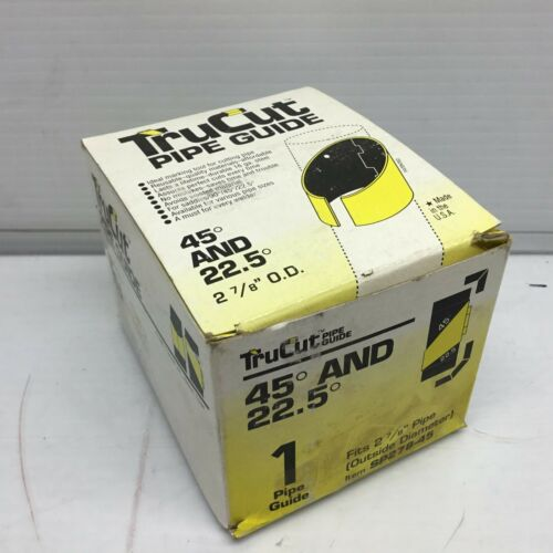 """TruCut Pipe Guide SP278-45 2-7/8"""" Outer Dia  (45 Degree and 22.5 Degree)"""