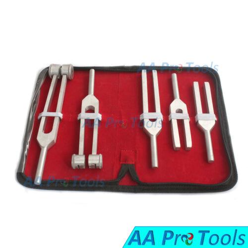 AA Pro: Tuning Fork Chakra Set 5 Aluminum Diagnostic Instruments