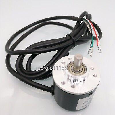 Us Stock Encoder 400 P R 5v-24v Incremental Rotary Ab 2 Phase 6mm Shaft