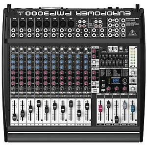 Behringer PMP3000 1,200-Watt 16-Channel Powered Mixer Safety Beach Coffs Harbour Area Preview