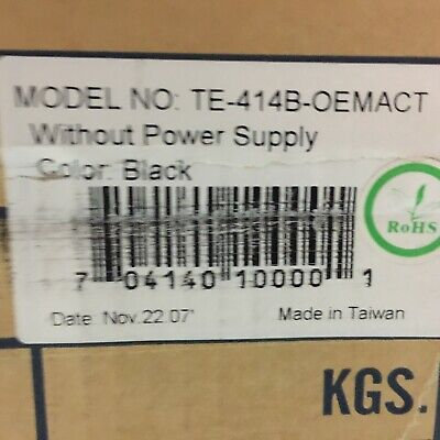 Used, NEW IN BOX ADVANCED RACKMOUNT SOLUTIONS SERVER CHASSIS TE-414B-OEMACT for sale  Shipping to India