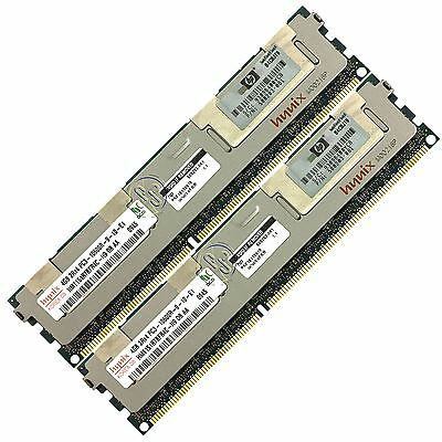 HP 8GB (2X4GB) PC3-10600 DDR3-1333 ECC Registered 240-Pin DIMM Memory Module RAM