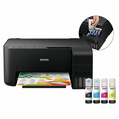 Epson ET 2710 EcoTank 3in1 Drucker Kopierer Scanner Display Micro Piez WiFi...