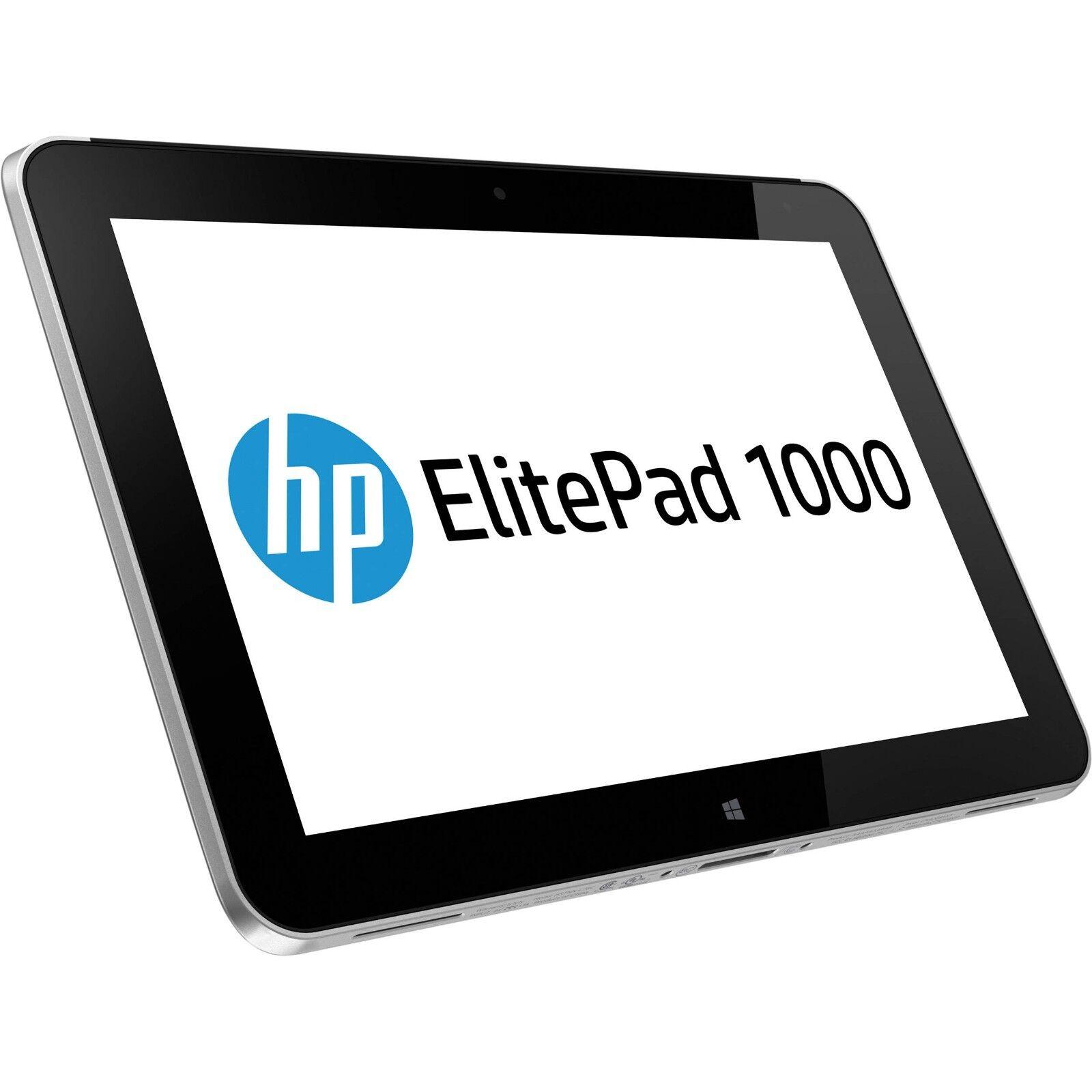 "HP ELITEPAD 1000 G2 TABLET Z3795 1.6GHz 4GB 64GB HDZ3700 10.1"" NO OS"