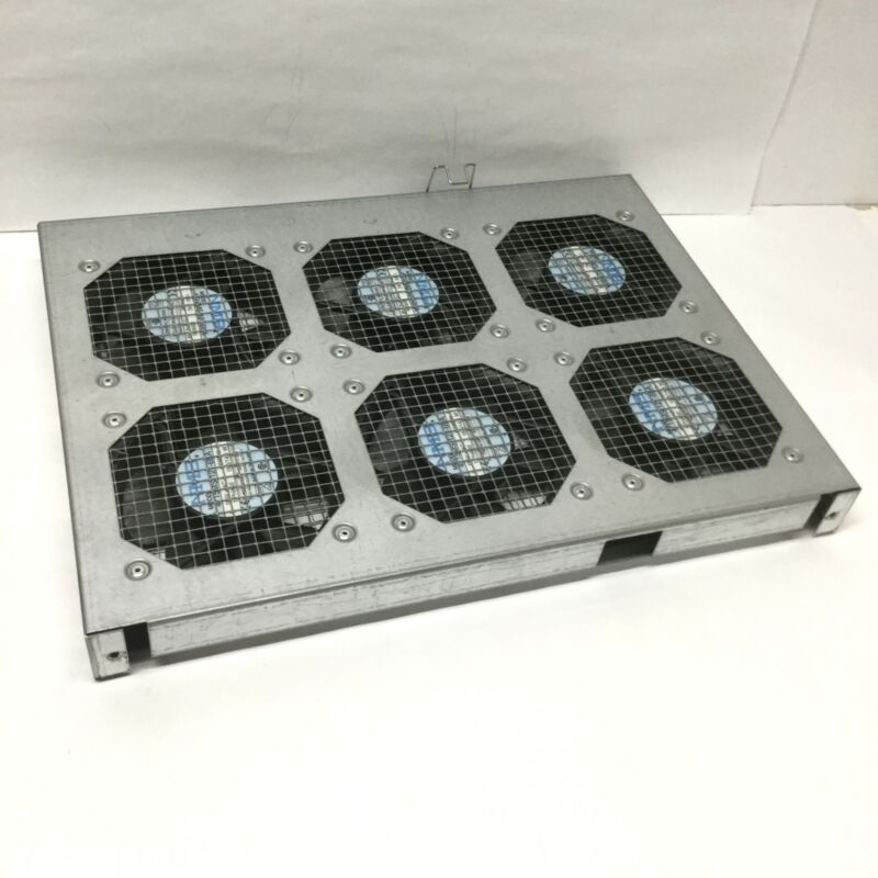 """Hoffman A19FT6 19"""" Server Rack-Mountable Cabinet Cooling Tray, 6-Fan, 115VAC"""