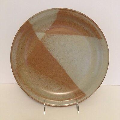 Iron Mountain Stoneware White Top 11  Dinner Plate