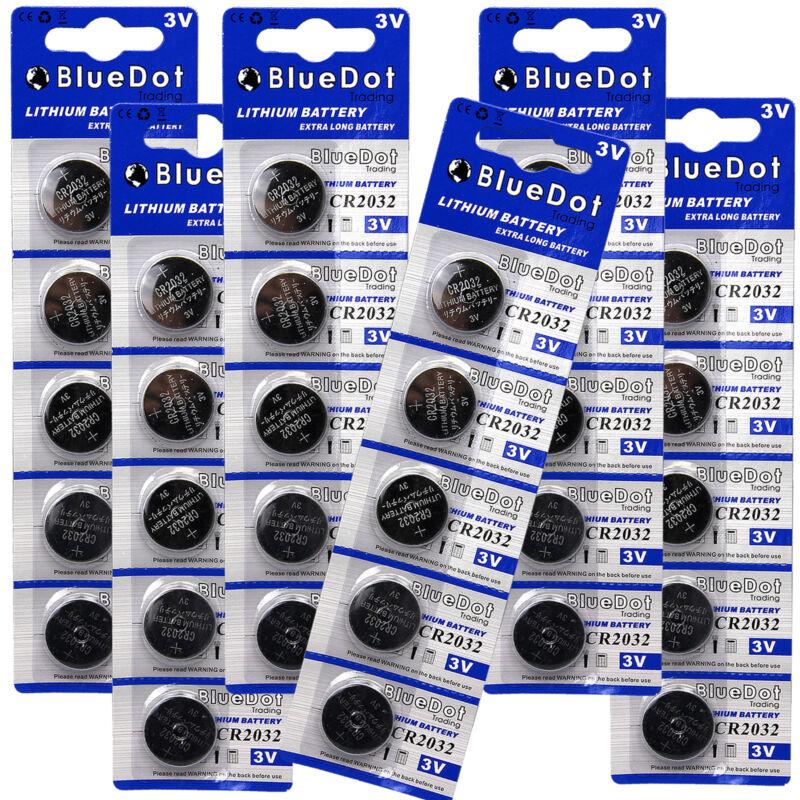 30x Bluedot Batteries Cr2032 Dl2032 Ecr2032 5004lc 3 Volt Button Cell Battery