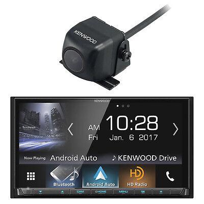Kenwood DDX9704S 2-DIN In-Dash DVD/CD Car Stereo w/ Kenwood Rear-View Camera