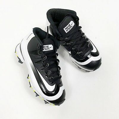 8d96afe71a5ad Nike Huarache 2K Filth Keystone Mid Baseball Cleat Kids Size 11c Black White