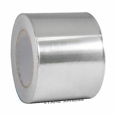 1 Roll Aluminum Foil Tape 4 X 150 With Liner - Malleable Foil - Free Shipping