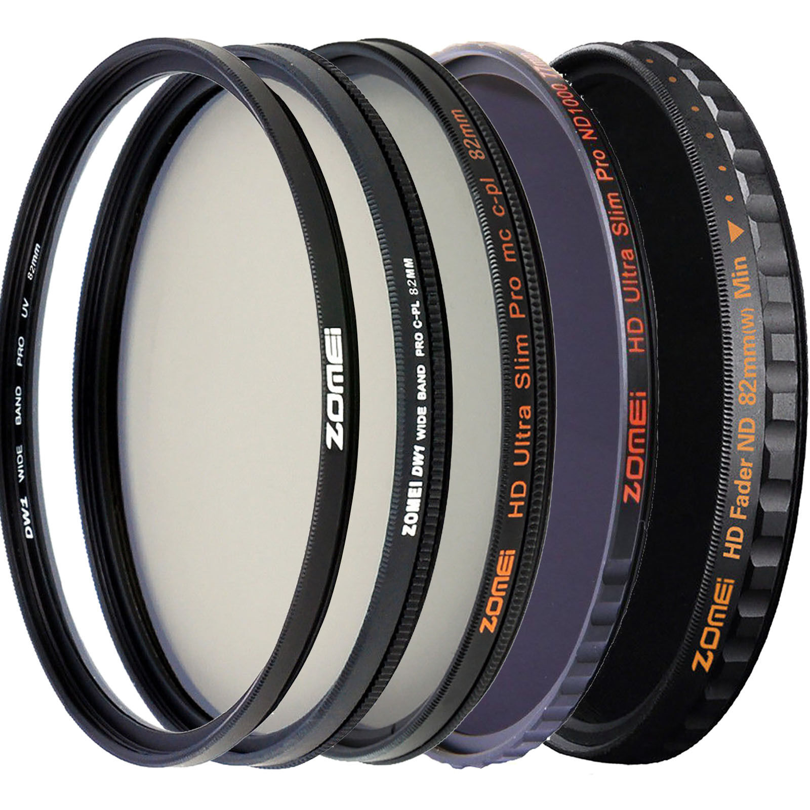 UV Filter 72mm,K/&F Concept 72mm Ultra Slim UV MC-UV Glass Filter 18-Layer Multi Coated Waterproof Shock-resistant Ultra Violet Ultraviolet Protection Lens Filter