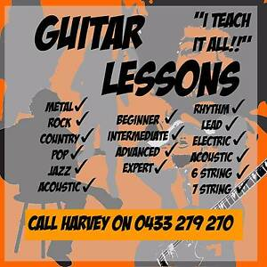Guitar Lessons - Beginner, Intermediate, Advanced Maribyrnong Maribyrnong Area Preview