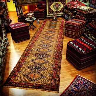 All Hand Knotted Persian Runners Available