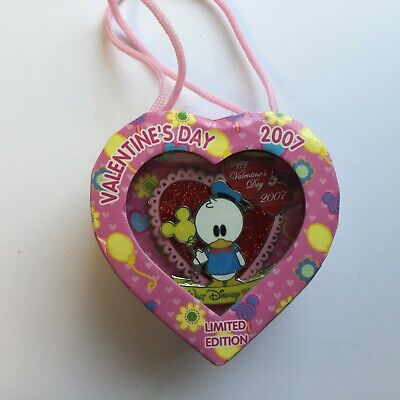 Cute Valentine Boxes (Happy Valentine's Day 2007 Cute Characters - Donald Duck Boxed Disney Pin)