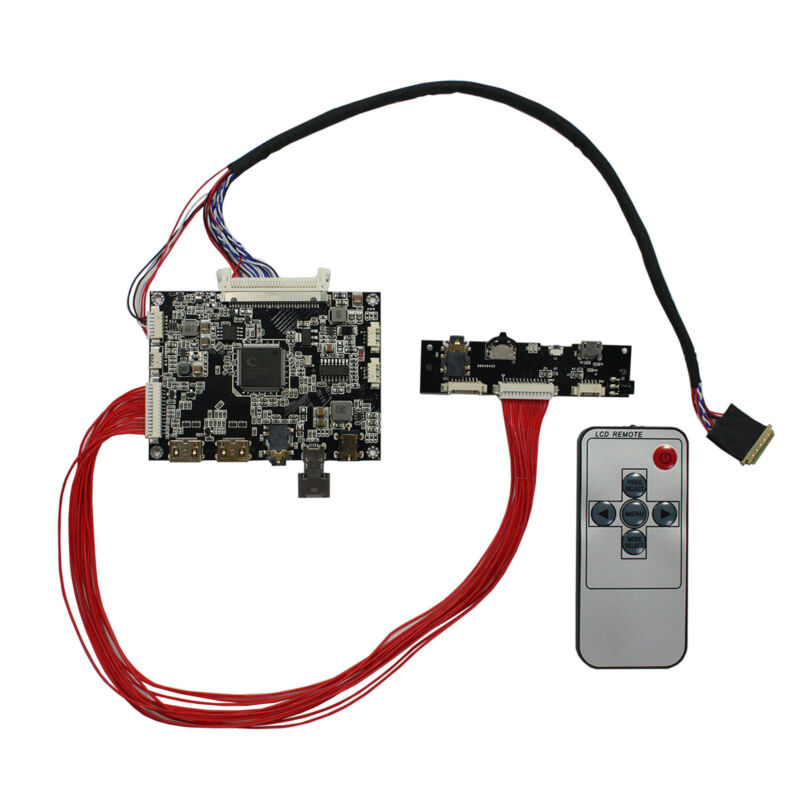 Mini HDMI LCD Controller Board For 10.1 in B101EW05  LP101WX1 HSD101PWW1 LCD
