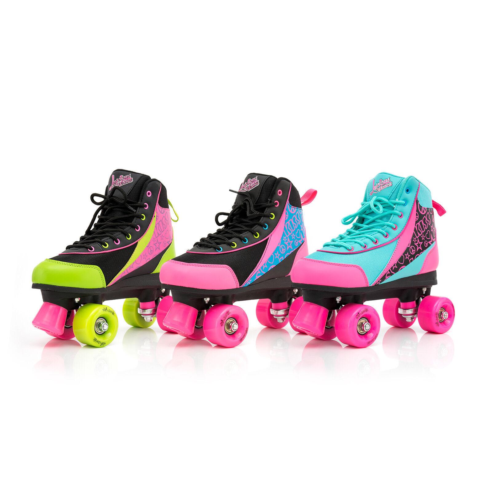 Rollschuhe für Kinder Skates Disco Roller Rollerskates Quad Retro Kinder Inliner