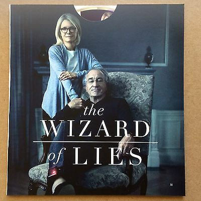 The Wizard Of Lies   Rober De Niro Michelle Pfeiffer  Promo Hbo Fyc  Emmy 2017