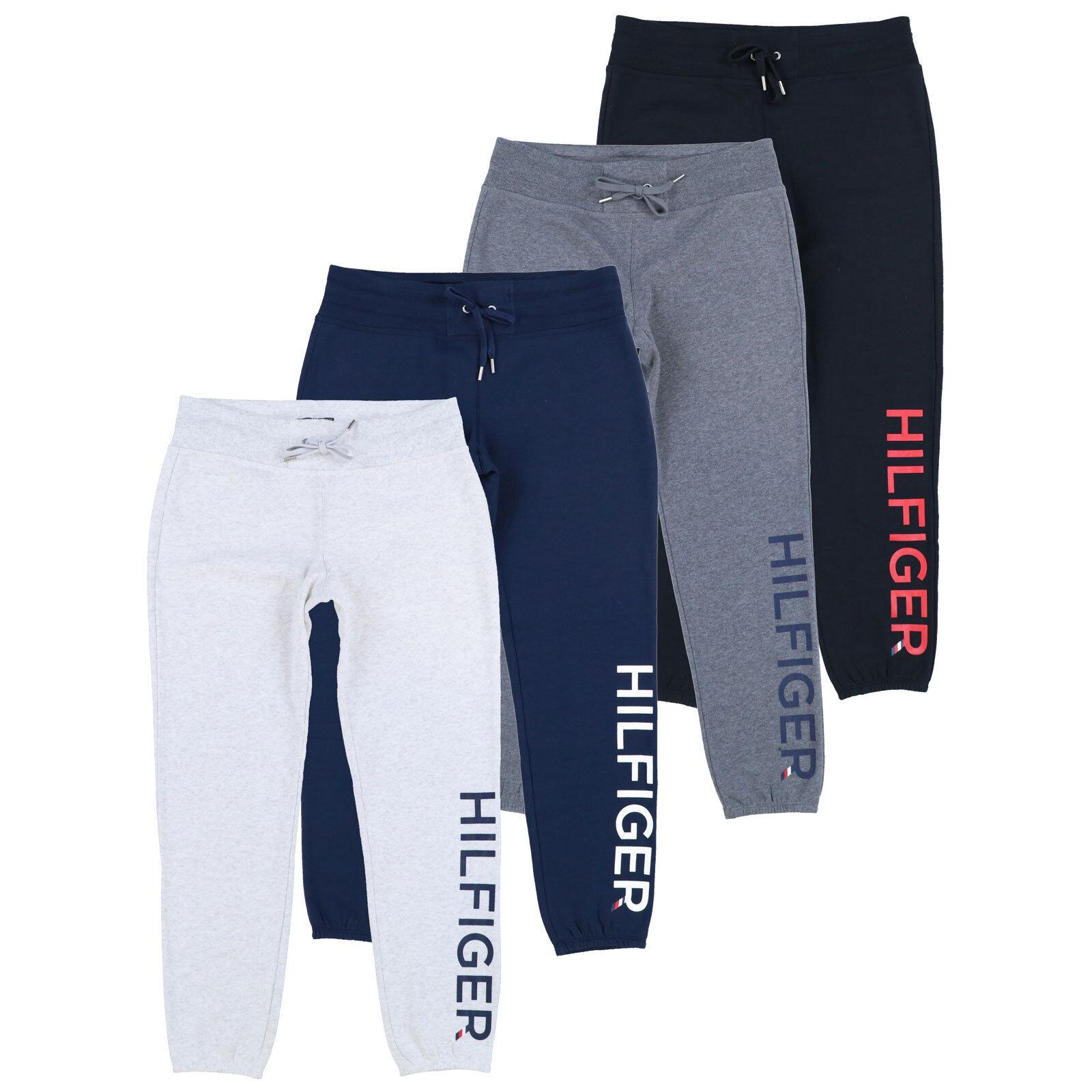 Tommy Hilfiger Womens Jogger Sweatpants Lounge Wear Logo Ath