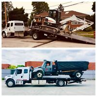 FLOAT SERVICES , FLATBED TOWING , FLATBED MOVING  416-830-8854
