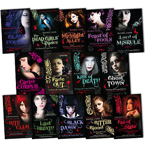 Rachel Caine The Morganville Vampires 14 Books Collection Set Fall Of Night New