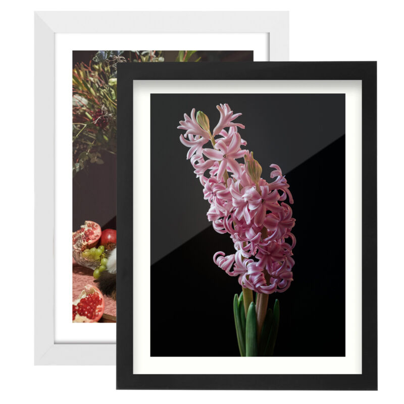 Wood Picture Photo Frame Set Wall Mounting Poster Display 4x6 8x10 11x14 12x16