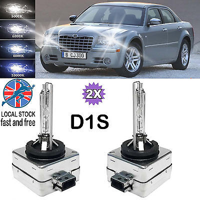 2X D1S HID XENON OEM REPLACEMENT HEADLIGHTS BULBS ALL COLORS FOR CHRYSLER 300 C